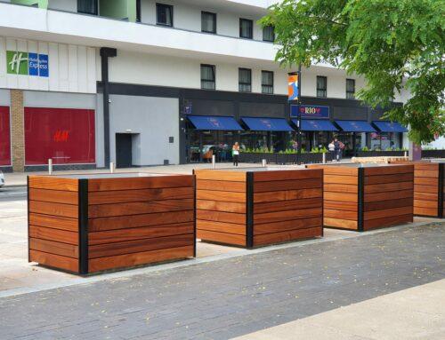 PAS 68 Counter Terror planters for Middlesbrough Council
