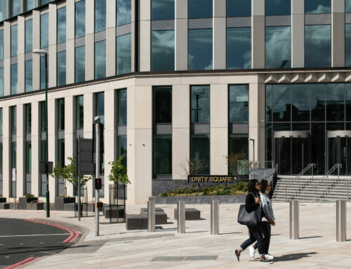 PAS68 seating and planters for Unity Square, Nottingham